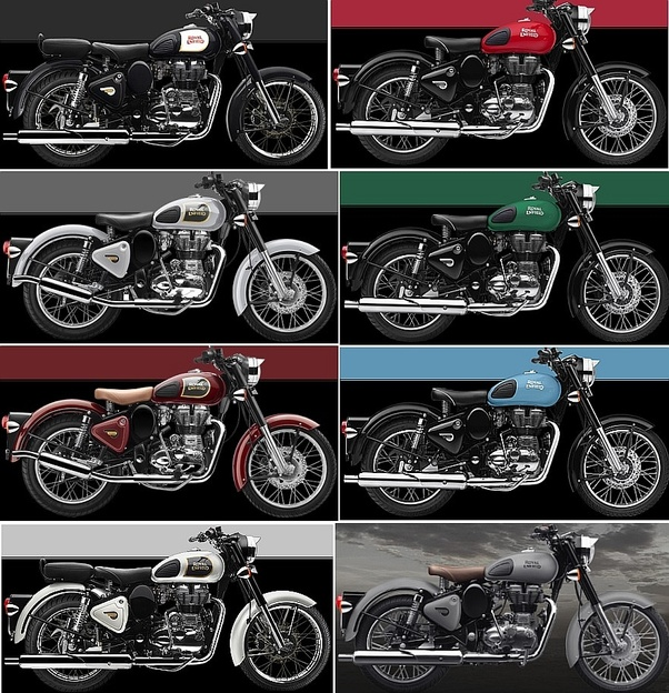 Which Colors Of Royal Enfield Classic 350 Are Good The Redditch
