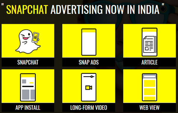 Image result for Snapchat Ads, Offers and Promotions
