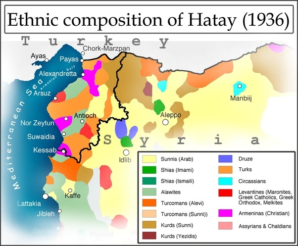 Should Turkey give the province of Hatay back to Syria since the