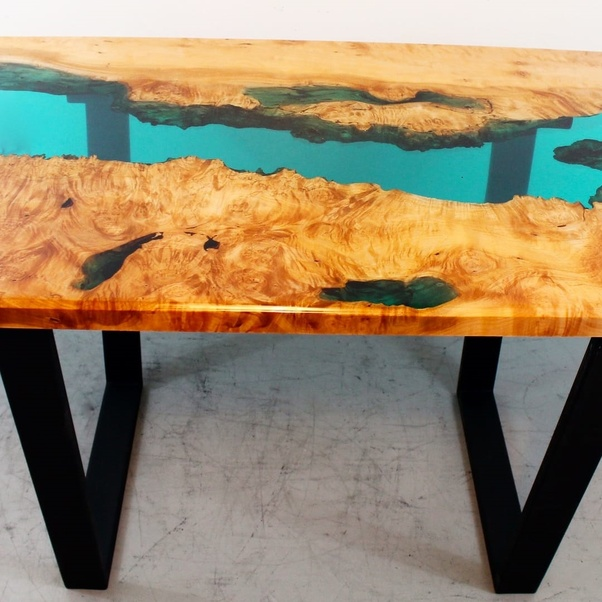 how is epoxy resin table top quora rh quora com epoxy resin table top malaysia epoxy resin table top india