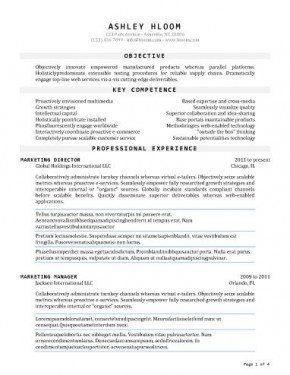 Answer Wiki  Ms Word Resume Template