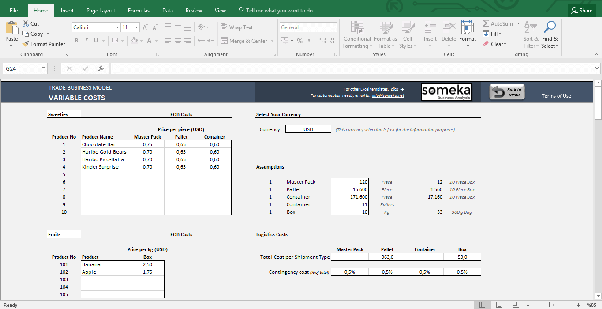 Where can i find a good excel template for tracking startup some screenshots from expenses costs sections pronofoot35fo Images