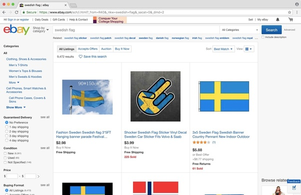 Is there a Swedish eBay? - Quora