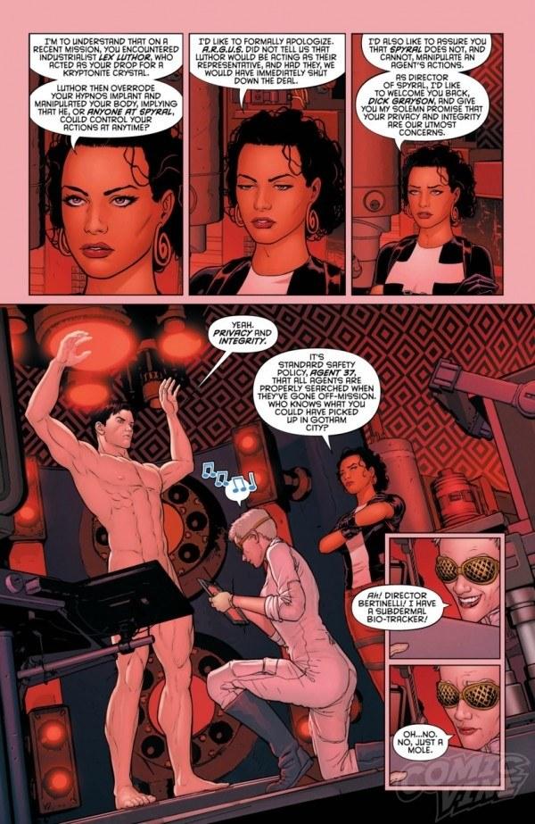 Adult Superhero Comics