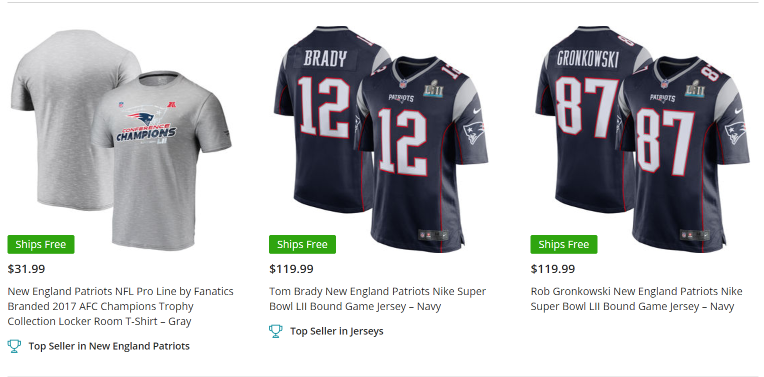 Where is the best place to buy New England Patriots jerseys  - Quora 797c97d54