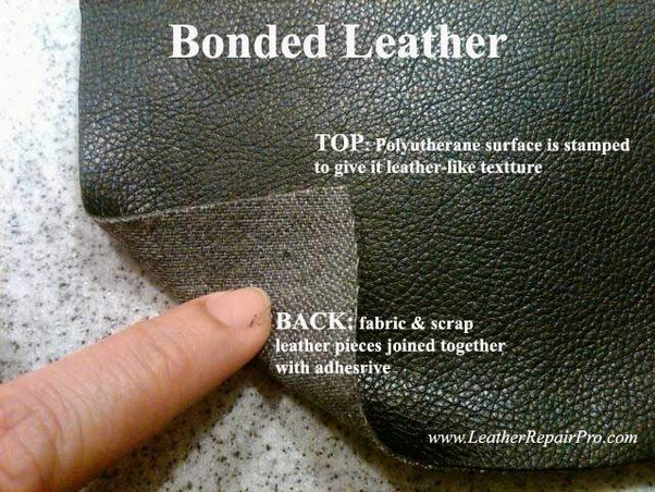 What Are The Differences Between A Bonded Leather Sofa To