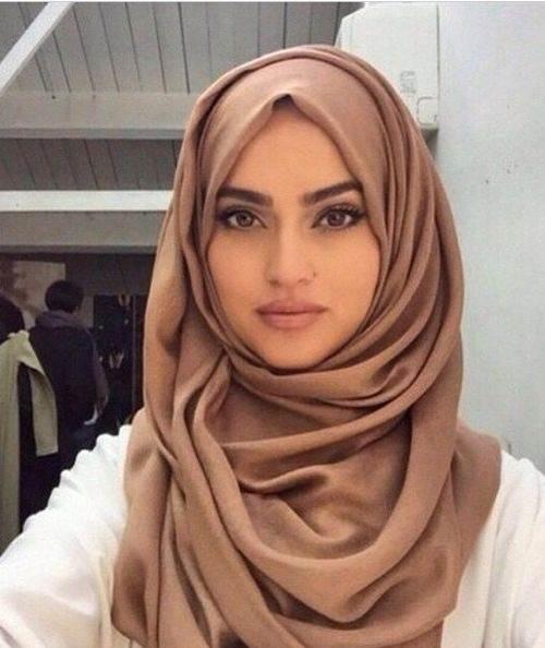 how to make burqa scarf