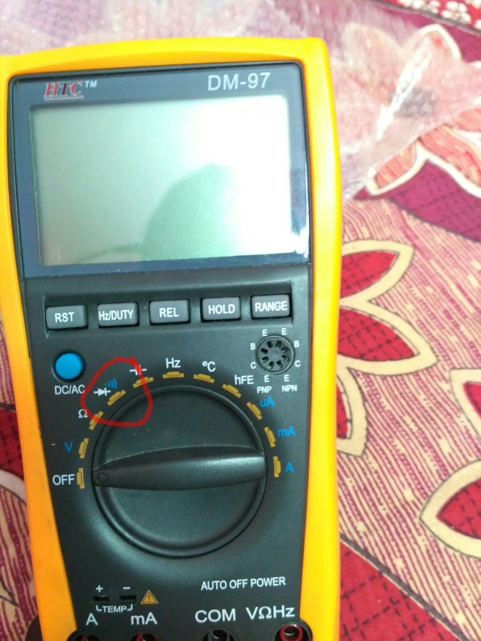 How To Test A Diode Using Digital Multimeter Quora Measurements Electronic First Select Mode In Your Then Connect Anode Lead Of And Common With Cathode
