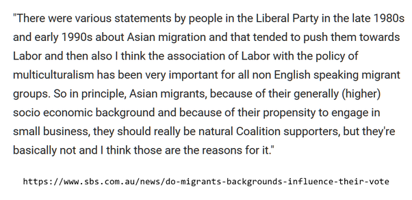 Why Do Most Asian Australians For Example Chinese Australians