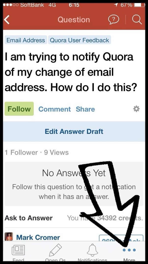 how do i change my email on my iphone how to change my primary email address on quora quora 7242