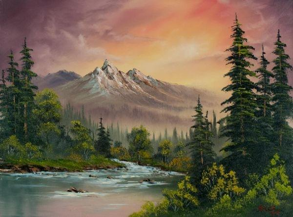 What Are Bob Ross S Paintings Worth