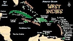 In which continent do the west indies lie quora the lesser antilles are the much smaller islands to the southeast and they are divided into two 2 groups the leeward islands and windward islands gumiabroncs Gallery