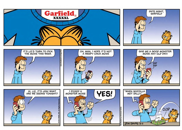 What Is The Best Garfield Comic Quora