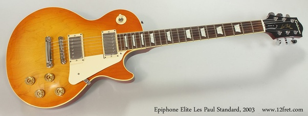 Dating epiphone les pauls