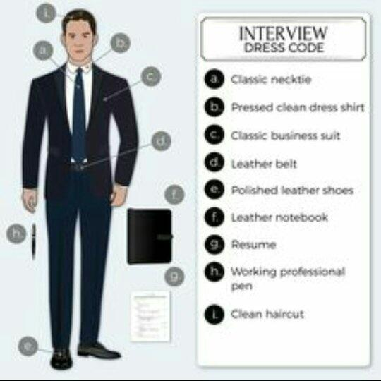 Dress for Interviews
