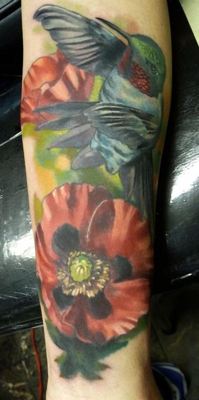 Are there great watercolor style tattoo artists in the san for Bay area tattoo artists
