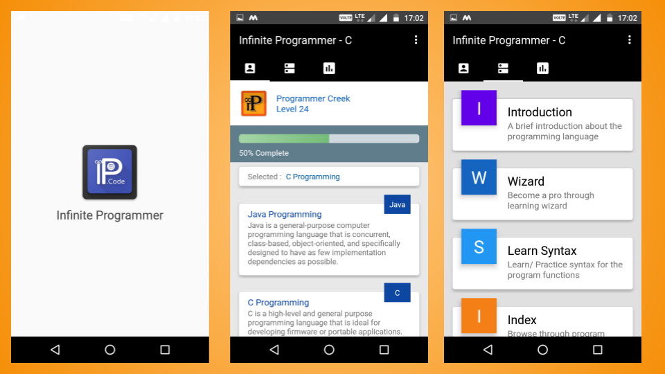 What is the best Android app to learn Java programming from