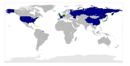 If russia the usa and china teamed up could they take over the world map showing the main great powers although missing india and brazil imo gumiabroncs Images