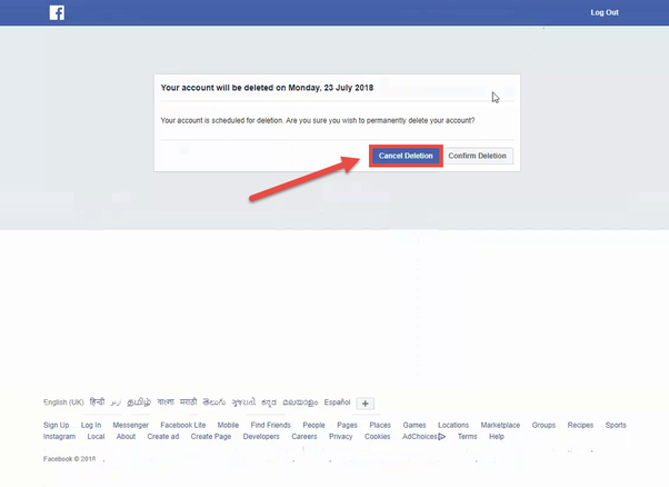 How to recover a deleted Facebook page - Quora