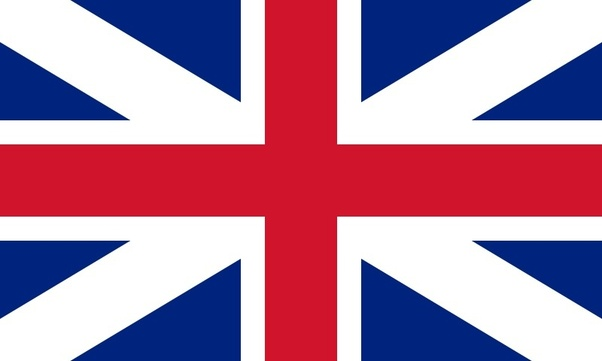 what does the blue on the england flag mean also what does the red