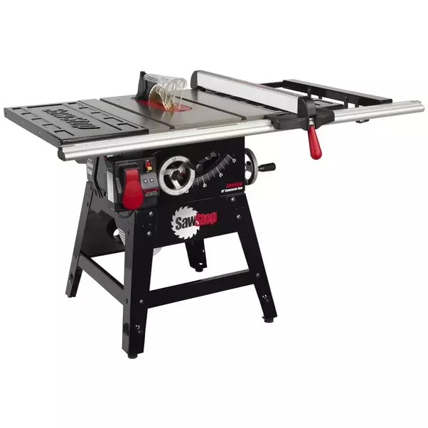 In what ways will changing my table saw from 110v to 220v help the above photo show a prime example of a contractor table saw its meant to be transported frequently often has a direct drive motor meaning the motor greentooth