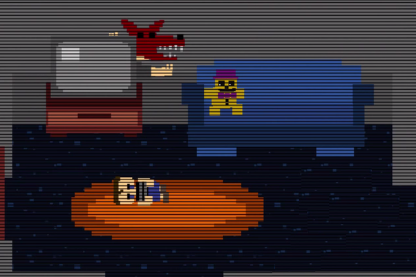 You Are In A Coma Thanks To Your Brother Jokingly Placing Head Inside Fredbears Mouth
