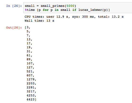 What is the largest prime number you can find with program