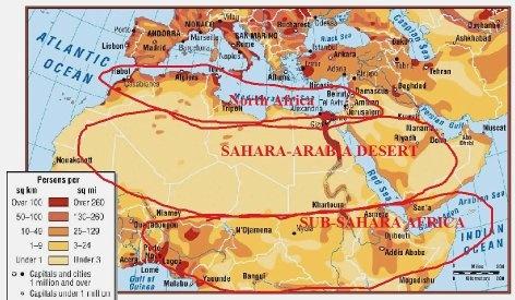 Map Of Asia Gobi Desert.Although Arabian Desert Is Greater Than Gobi Why Gobi Is Called As