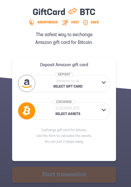 amazon bitcoin exchange