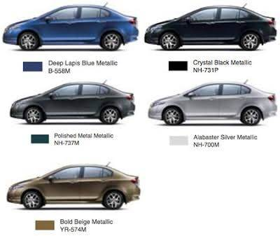 Which Color Of Honda City Is Good Looking?   Quora