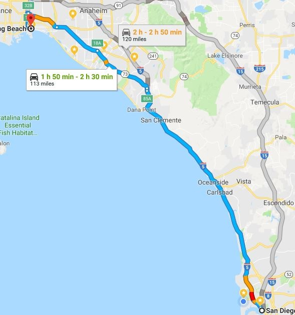 When Is The Best Time To Drive From San Diego To Long Beach Quora