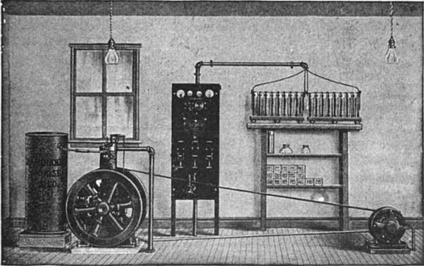 Electricity In The 1800s