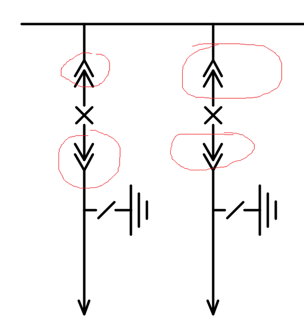what does this symbol mean in hv electrical single line