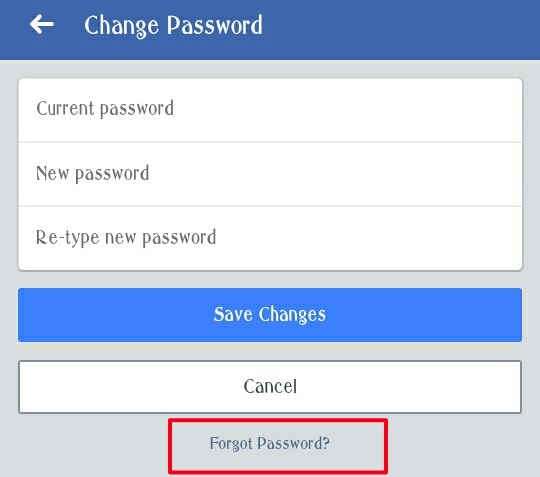 How to reset my Facebook password without my old password - Quora
