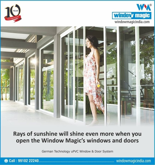 The Common Debate All Over Is Whether To Opt For Traditional Aluminum And Wooden Windows Or Latest Range Of Upvc Some Might Point Out Their