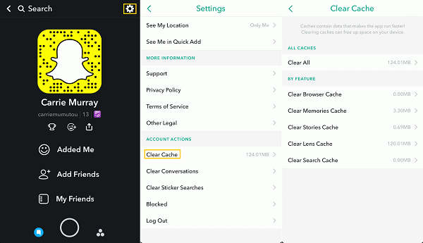 Why can't I upload videos on snapchat? - Quora