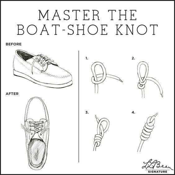 How to tie my sperry shoes in a chic way quora it is not going to be easy to explain the step by step way to do it so lets follow these visual instructions from ll bean brand ccuart Gallery