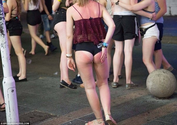 Girls Wearing Revealing Clothes In Public