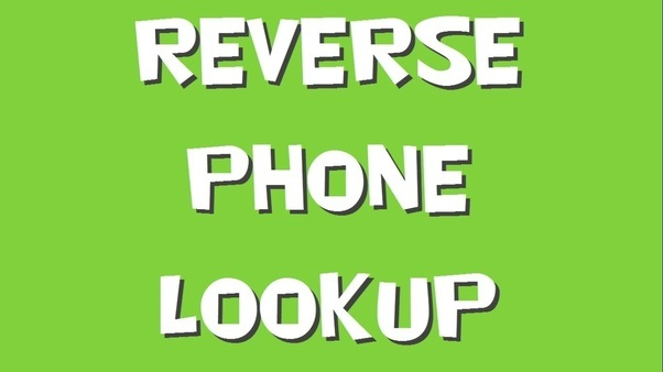 Are there any totally free reverse phone lookup services for cell phones in the US? - Quora