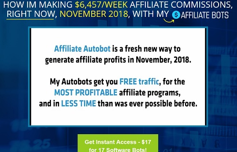 How to earn money via affiliate marketing via automated bots - Quora