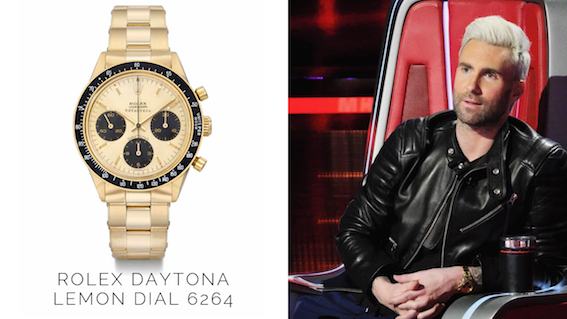 What Watch Does Adam Levine Wear Quora