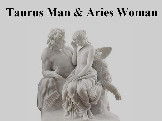 How compatible are an Aries woman and Taurus man in