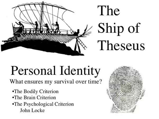 theseus ship Jenn introduces us to a puzzle that has bedeviled philosophy since the ancient greeks: the ship of theseus she tells the ship of theseus story, and draws out the more general question behind it: what does it take for an object to persist over time.