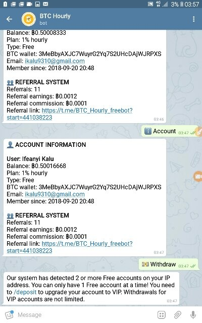 Is hourly free bitcoin bot legit? - Quora