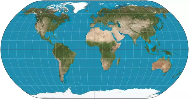 Why dont we start using a more accurate world map rather than the a compromise map like this preserves no qualities area angle distance perfectly but doesnt distort any of them too much gumiabroncs Gallery