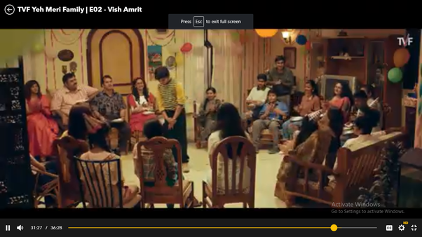 What do you notice about the 'Yeh Meri Family' TV series by