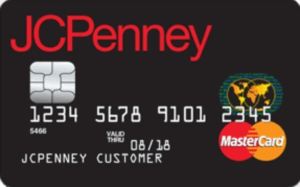 jcpenney credit card application pdf