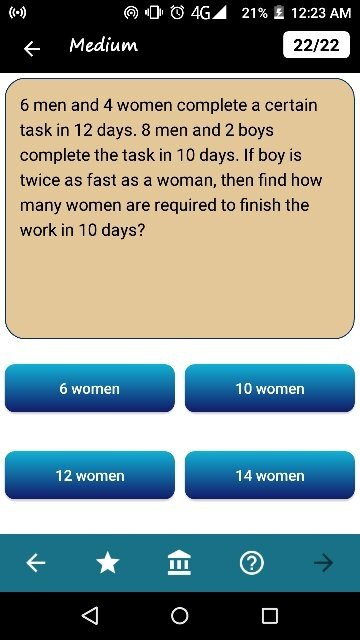 If you work for a man