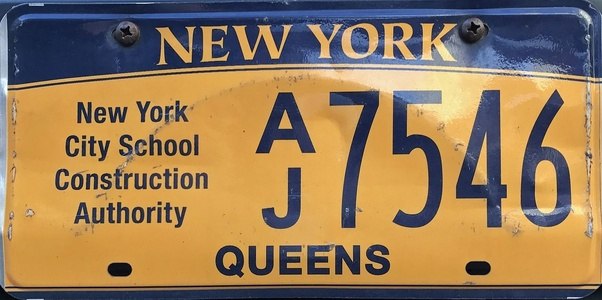 What NY licence plate begins with AX? - Quora