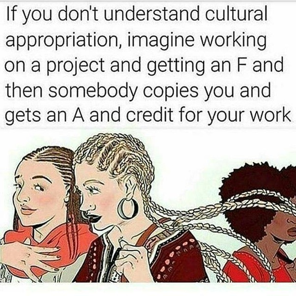 Do you think cultural appropriation has gone too far? - Quora